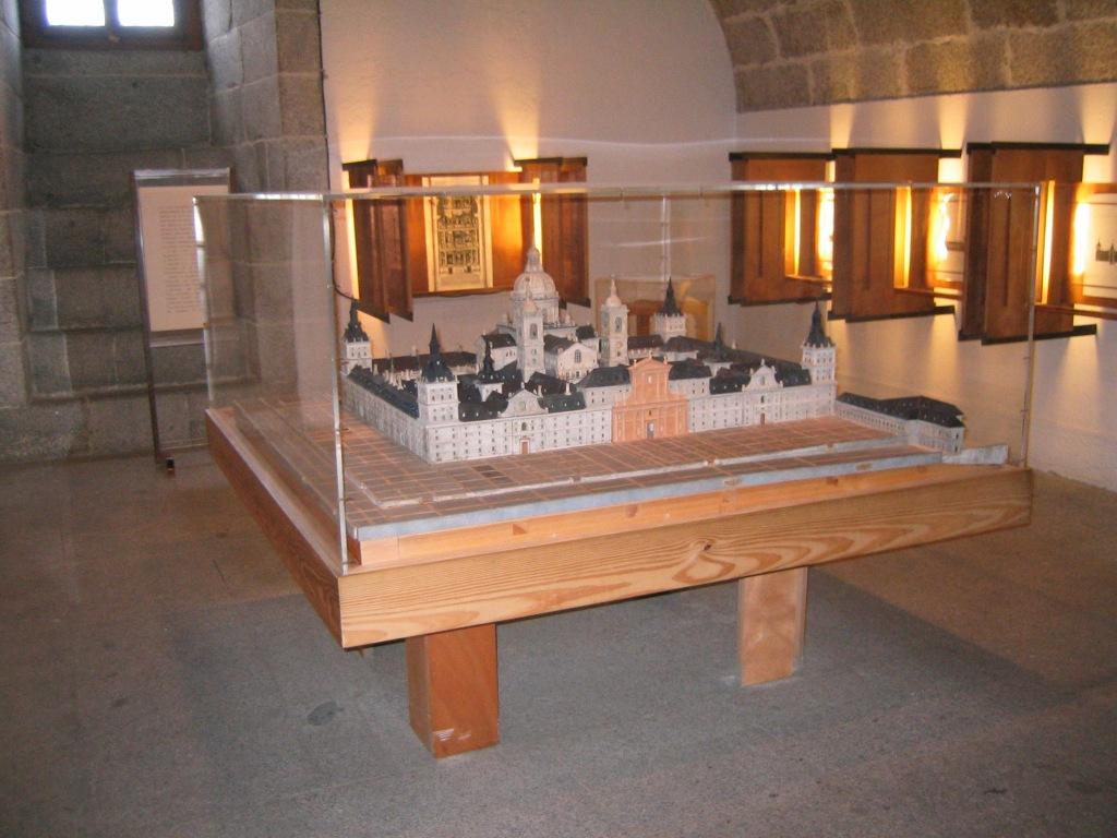 Monasterio de El Escorial octubre 2003
