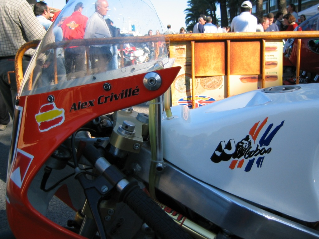 Classic Racing Revival Denia abril 2004 - Una de las motos de Alex Crivillé