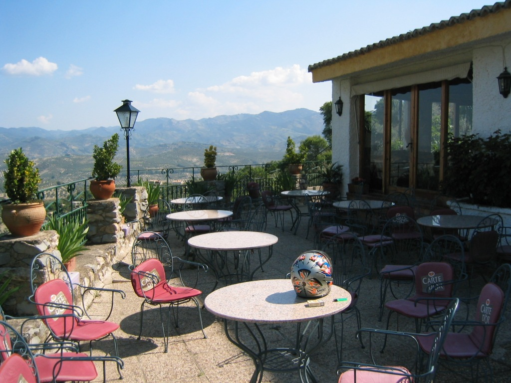 Hotel Sierra de Cazorla La Iruela (Jaén) mayo 2004