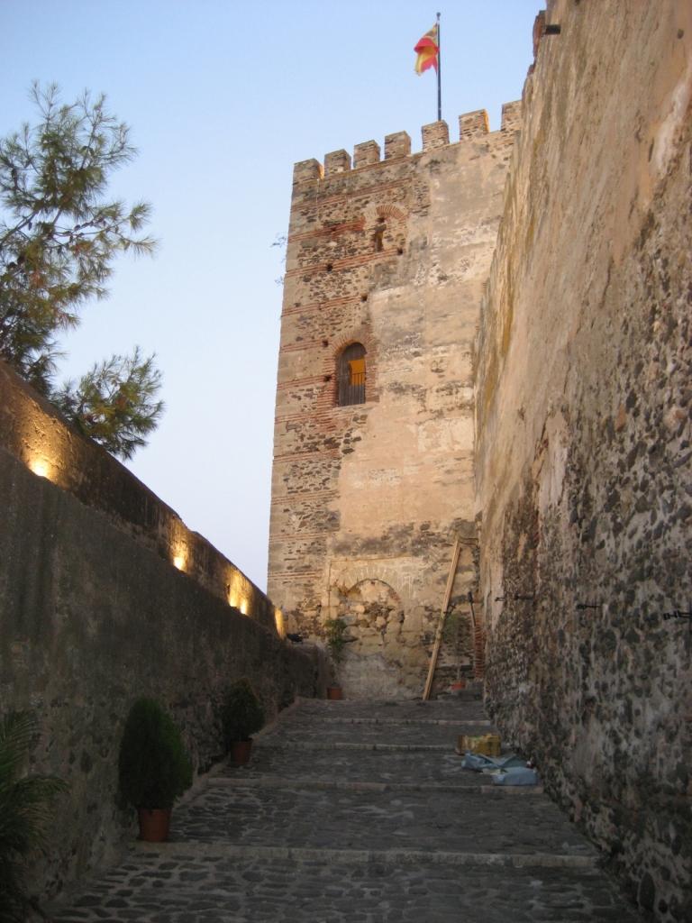 Castillo Sohail Fuengirola (Málaga), agosto 2009