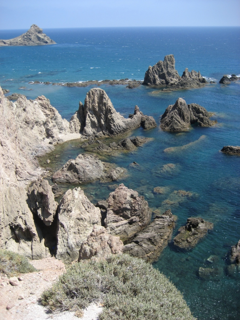 """Cabo de Gata (Almería), agosto 2009 - Coordenadas GPS: 36°43'18.9""""N 2°11'31.9""""W"""