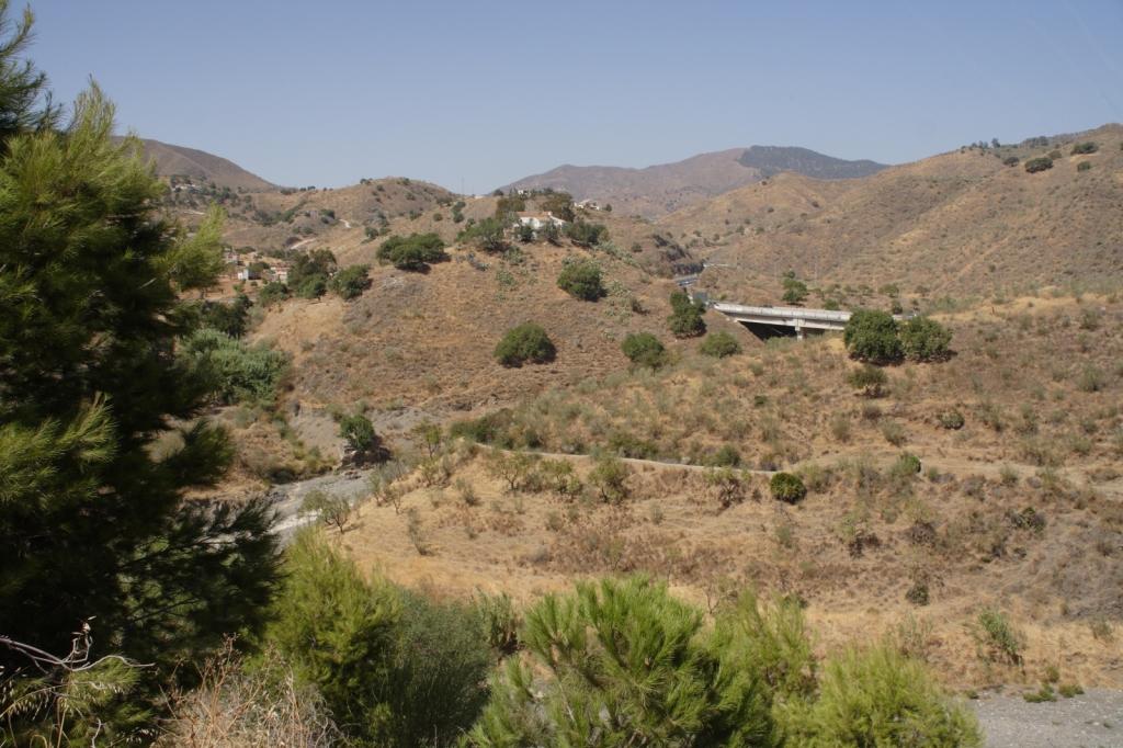 Embalse del Agujero y Limonero Málaga, agosto 2009
