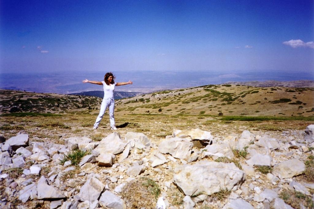 Pico de Javalambre (Teruel) agosto 1999