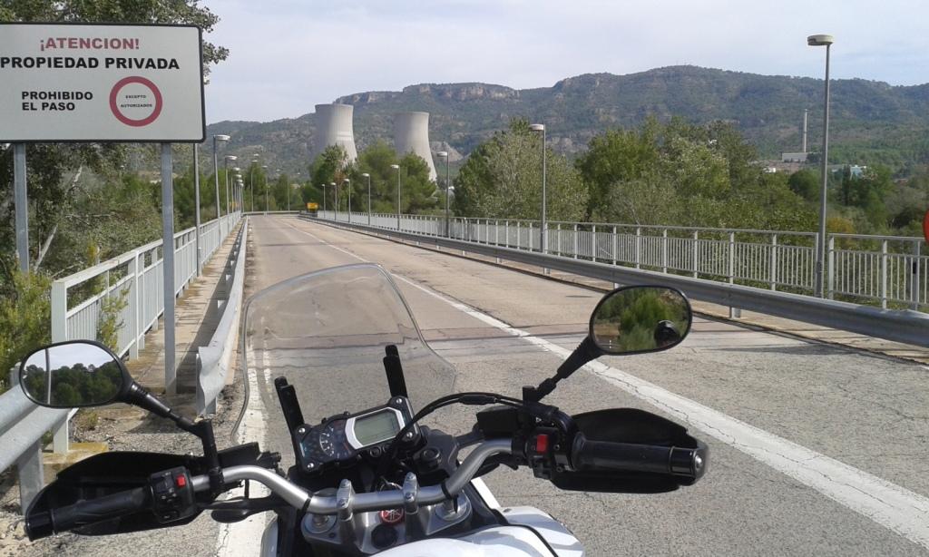 Central nuclear Cofrentes (Valencia), septiembre 2013