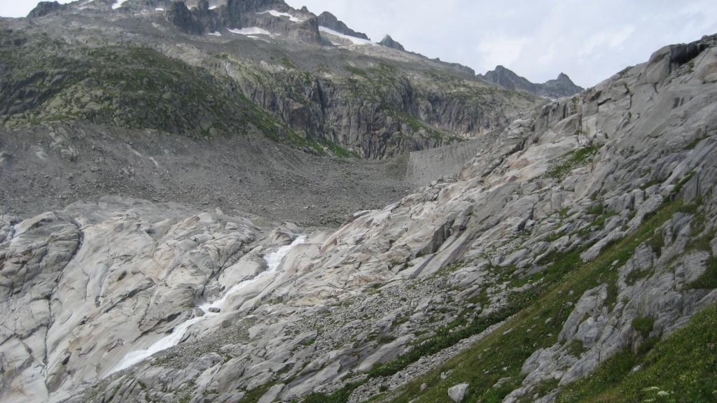 Glaciar del Ródano (Suiza)