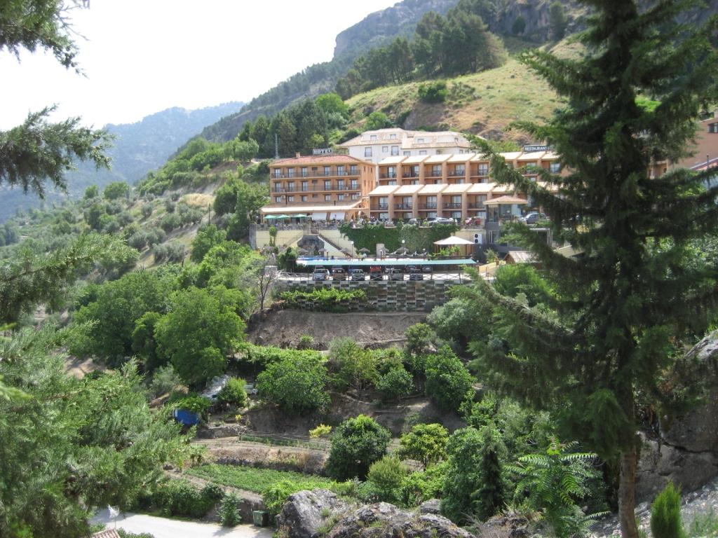 """Hotel Sierra de Cazorla (La Iruela), junio 2011 - Coordenadas GPS: 37°55'17.2""""N 2°59'15.0""""W"""