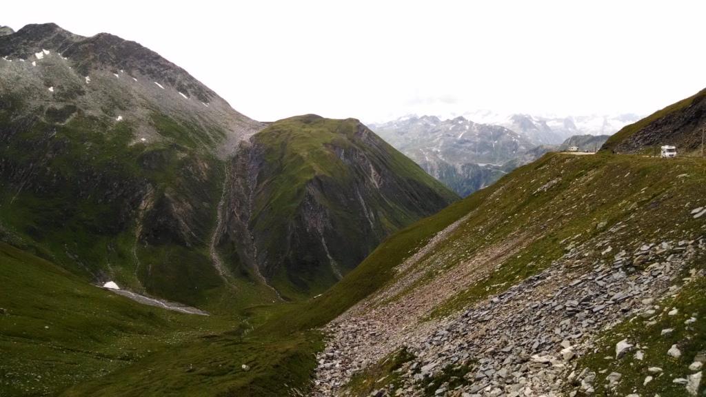 Subida al Furkapass (Suiza)