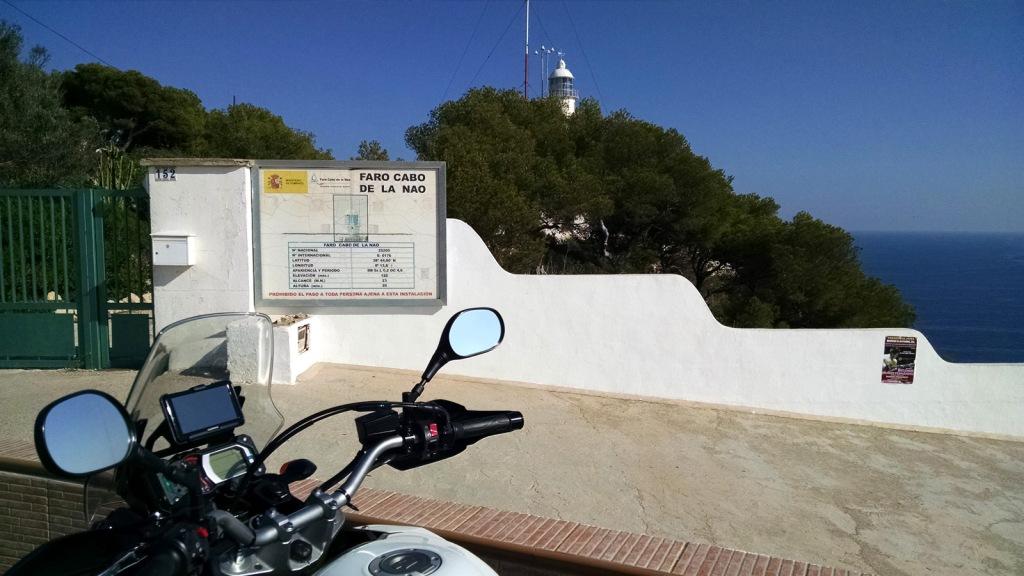 """Cabo de La Nao (Javea) - Coordenadas GPS: 38°43'58.4""""N 0°13'45.1""""E"""