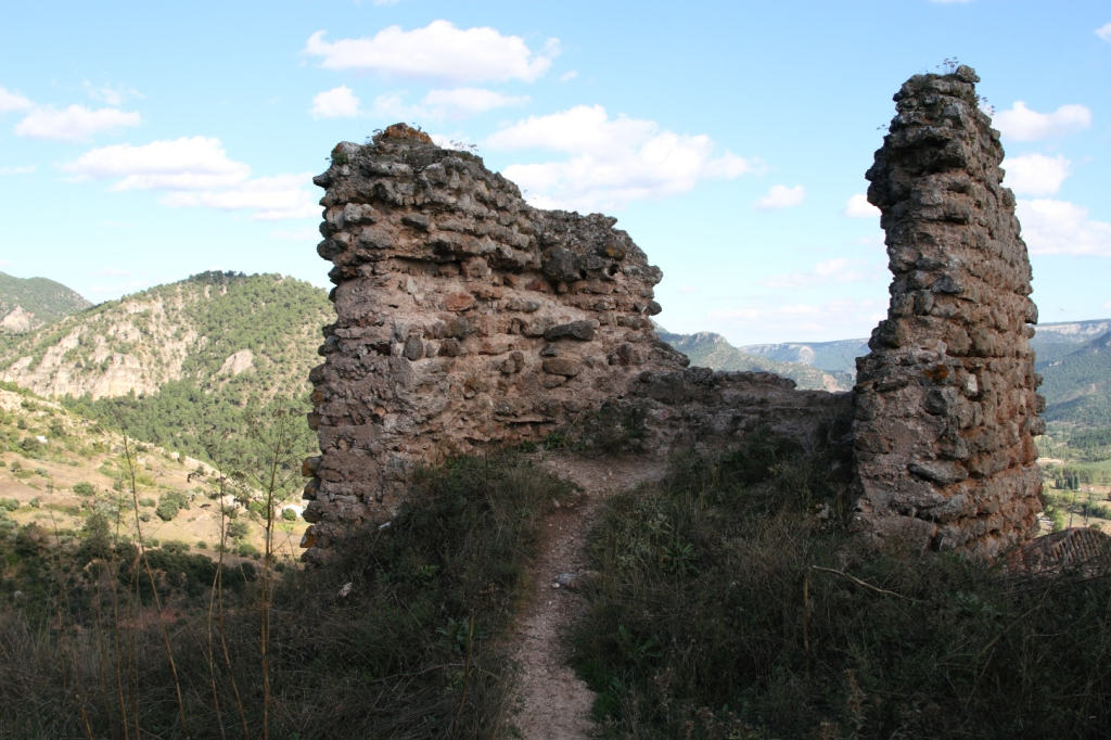 Castillo Árabe Riópar Viejo (Albacete), septiembre 2010