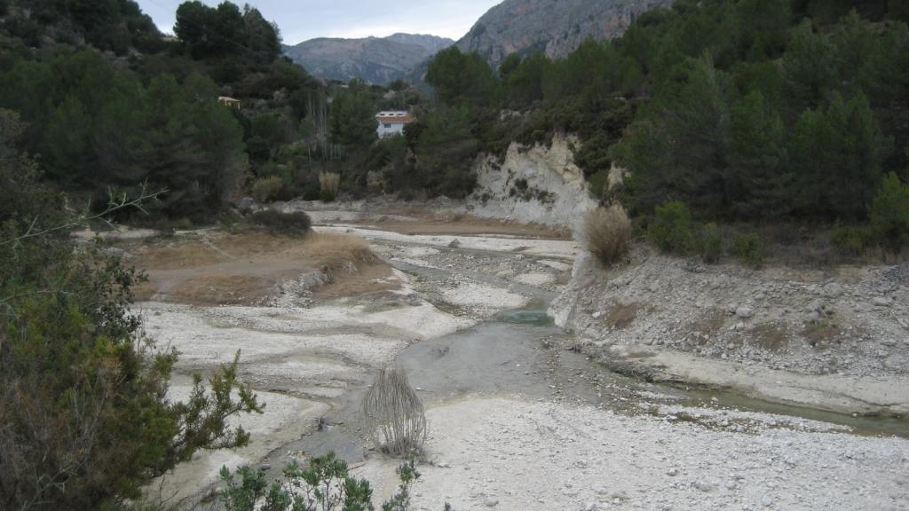 Pantano de Guadalest (Alicante), enero 2014