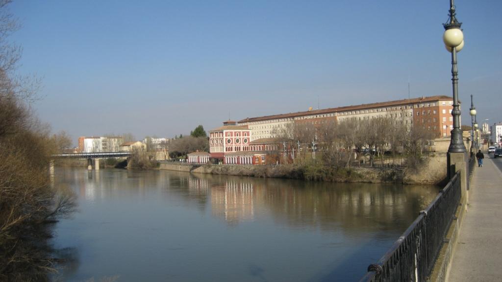 Río Ebro - Logroño (La Rioja) marzo 2014
