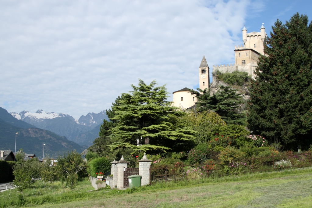 Castillo de Saint Pierre (Italia)