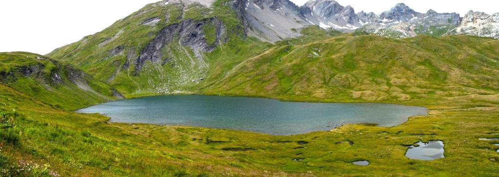 "Lago Verney (Italia) - Coordenadas GPS: 45°41'16.6""N 6°53'19.0""E"