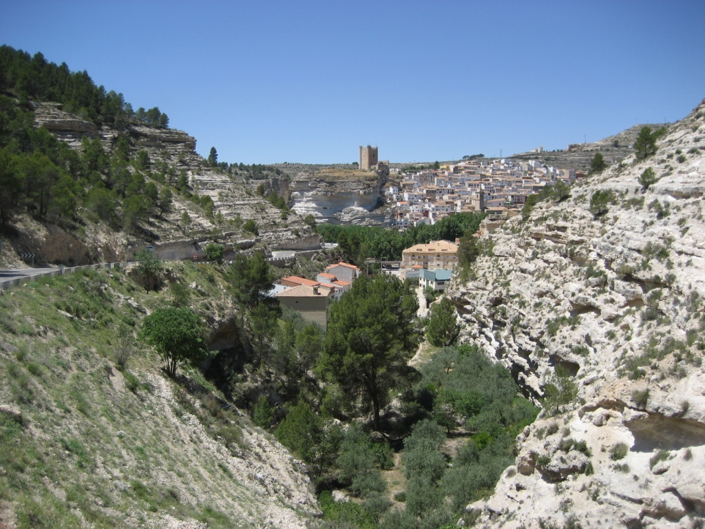 """Alcalá del Júcar (Albacete) - Coordenadas GPS: 39°11'16.8""""N 1°25'21.5""""W"""