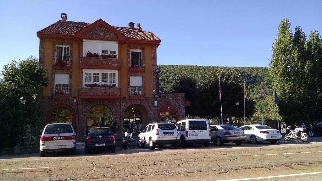 """Hotel Tierra de la Reina, Boca de Huérgano (León) - Coordenadas GPS: 42°58'24.1""""N 4°55'39.6""""W"""