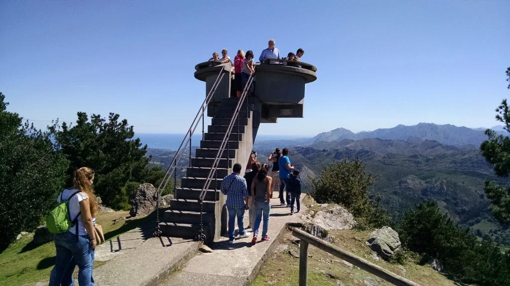 """Mirador del Fitu (Asturias) - Coordenadas GPS: 43°26'19.9""""N 5°11'35.3""""W"""